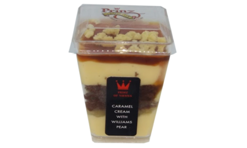 Caramel Cream with Williams Pear Wholesale Desserts